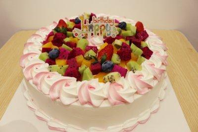 【韵味达】生日蛋糕 鲜果塔 8寸