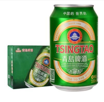 青岛啤酒经典11度330ml(箱装)