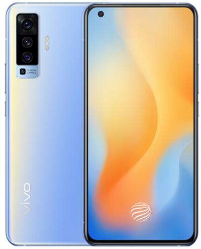 vivo X50 5G手机 8+128GB 超感光夜摄 后置4800W像素 90Hz超薄柔性屏 双模5G全网通手机