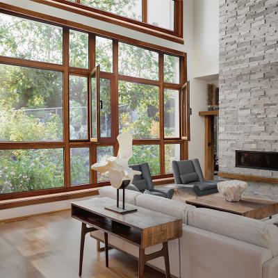 极泰栗木实木窗超低能耗IV93系列