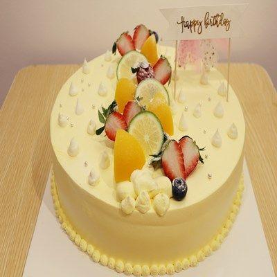 【韵味达】生日蛋糕 鲜果物语 8寸