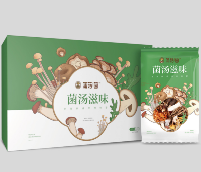 【博华专场】菌汤滋味 120g*8包/箱 博华蒲菇菌 免洗鲜香绽放味蕾