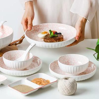 顺祥小时代抗菌陶瓷餐具套装