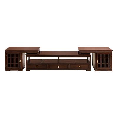 新中式现代简约纯实木客厅休闲室茶室电视柜