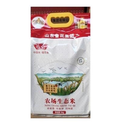 【爱心商品】鲁花农场生态米5kg