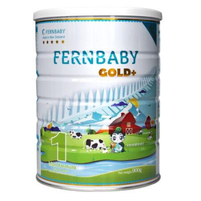 双11特惠-新西兰进口 Fernbaby斐婴宝 婴幼儿配方奶粉 五星 1段(0-6个月)900克