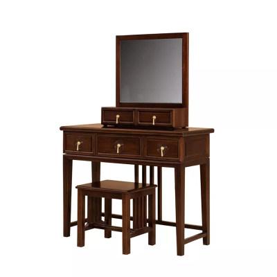新中式现代简约卧室梳妆台妆台妆镜