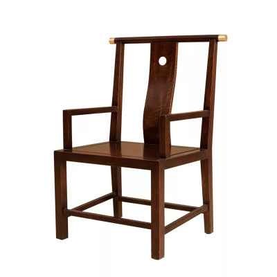 新中式现代简约书房茶室休闲室办公室书椅茶椅