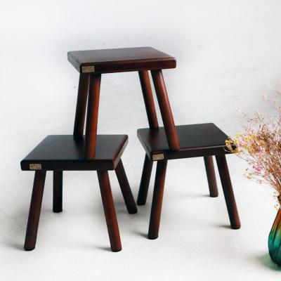 简约纯实木四脚凳儿童凳
