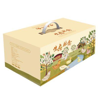 生态林禽礼盒(控股烘焙坊仓)