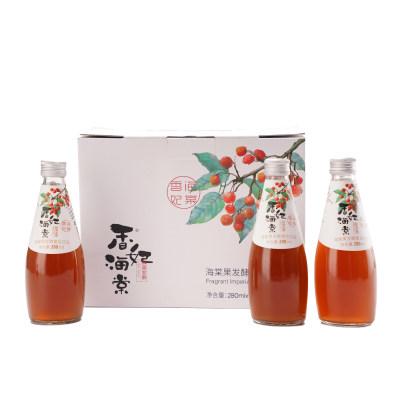 海棠果发酵复合饮品 280ml*6瓶装