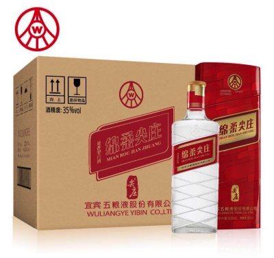 绵柔尖庄42度红铁500ml*6瓶