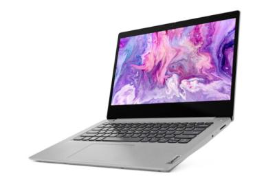 联想IdeaPad14s 2020款 十代英特尔酷睿 14英寸 高性能轻薄笔记本 银色 i3-1005G1/8G/512