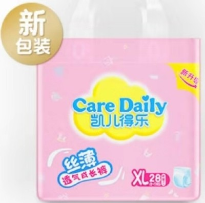 凯儿得乐(care daily) 丝薄婴儿拉拉裤