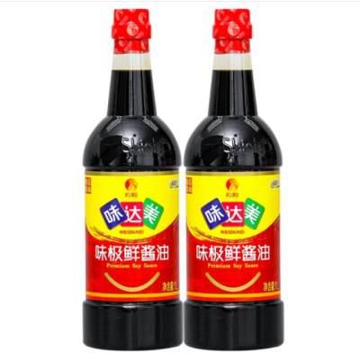 欣和味达美味极鲜酱油800ml