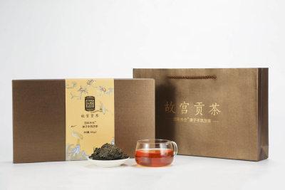 【第二件半价】故宫贡茶·庚子手筑茯砖1.2kg 中茶牌安化黑茶