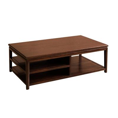 新中式现代简约纯实木客厅休闲室茶室书房长茶几