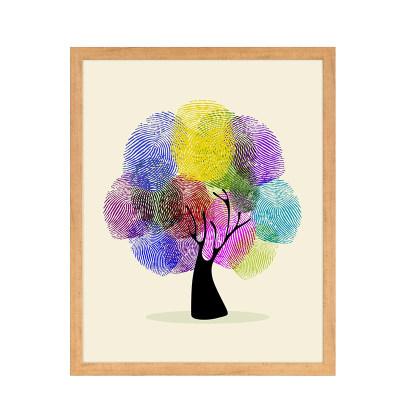 北欧指纹树a1-1(缤纷印记) 钜惠购 满340元立减108.89元,使用融汇通支付再立减100元