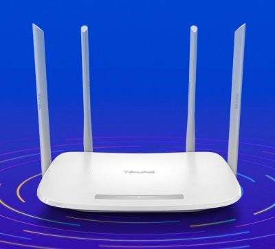 TP-LINK TL-WDR5620 1200M 5G双频智能无线路由器 四天线智能wifi 稳定穿墙高速家用路由器
