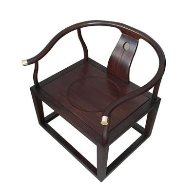 新中式现代纯实木书房客厅茶室休闲椅