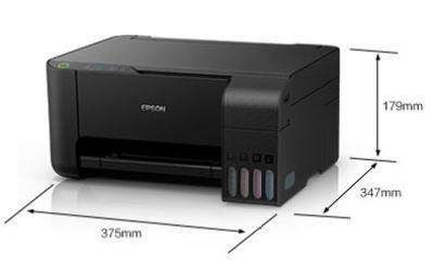 爱普生(EPSON)L3119彩色多功能一体机照片打印机办公家用经济型打印复印扫描三合一 墨仓式