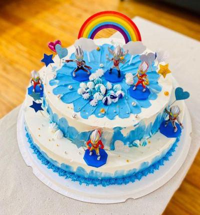 【韵味达】16寸双层生日蛋糕(只限博兴区域)