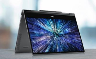 戴尔灵越7391 13MF 360°翻转触控屏笔记本电脑商务便携学生 I5-10210u 8G 512G固态 13.3寸