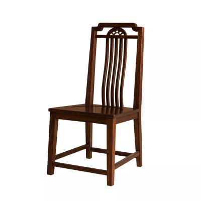 新中式现代纯实木餐厅餐椅
