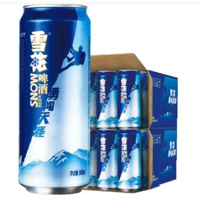 雪花啤酒勇闯天涯易拉罐500ml(箱装)