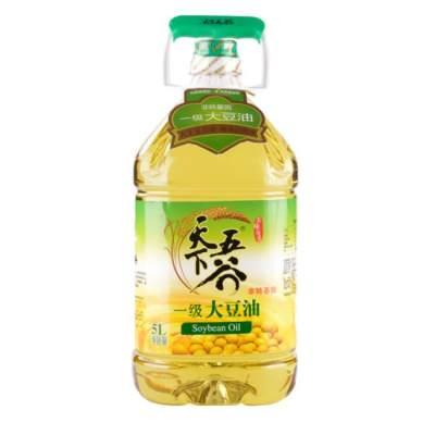 天下五谷一级大豆油5L(非转基因)