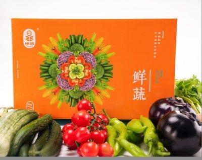 精品箱菜B(蔬菜6-8种10斤,溜达蛋12枚,猪肉1斤)