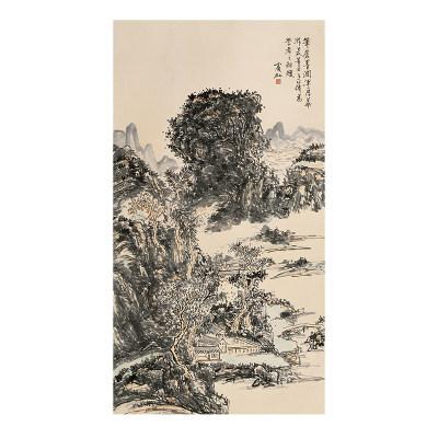 黄宾虹 山水图二