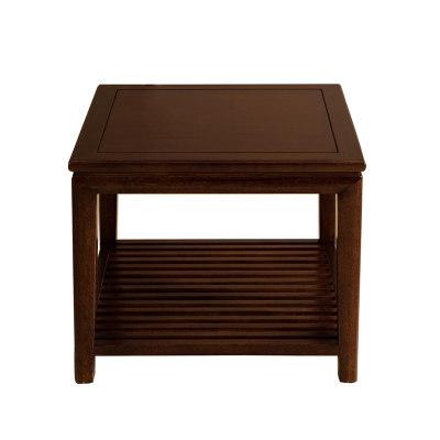 新中式现代简约纯实木客厅休闲室茶室书房角几