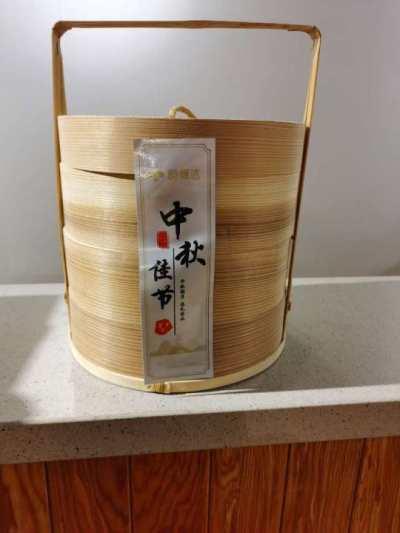 简约茶篮礼盒(控股烘焙坊仓)
