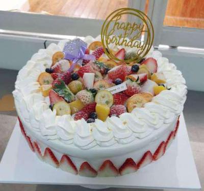 【韵味达】10寸生日蛋糕(只限博兴区域)