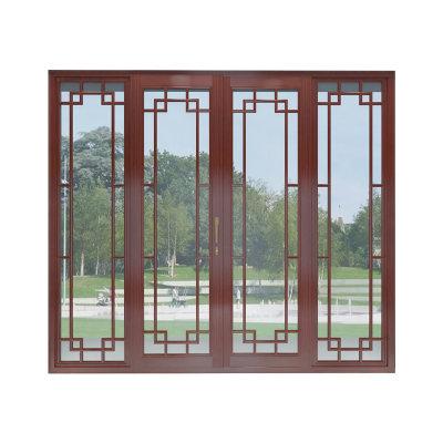 极泰栗木实木窗中式美学系列
